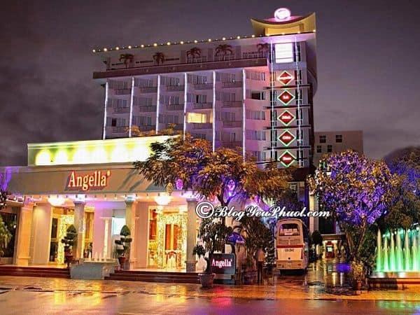 Khách sạn 4 sao Angella Nha Trang ở đâu, có tốt không? Nhận xét, đánh giá tiện nghi, chất lượng phục vụ của khách sạn Angella Nha Trang