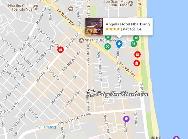 Đánh giá chi tiết khách sạn Angella Nha Trang: Khách sạn Angella Nha Trang ở đâu, có gần biển không?