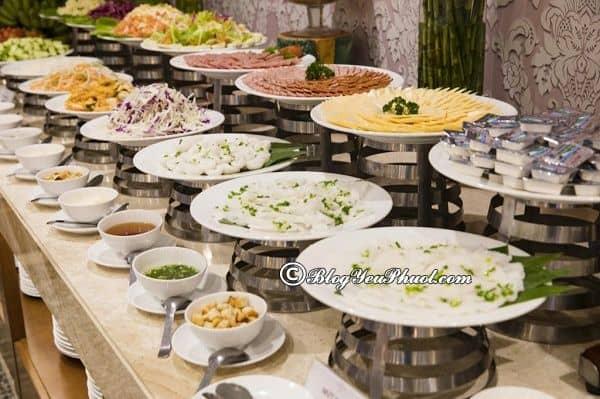 Dịch vụ của khách sạn 4 saoGalliot Nha Trang: Đánh giá nhà hàng, đồ ăn của khách sạn Galliot Nha Trang