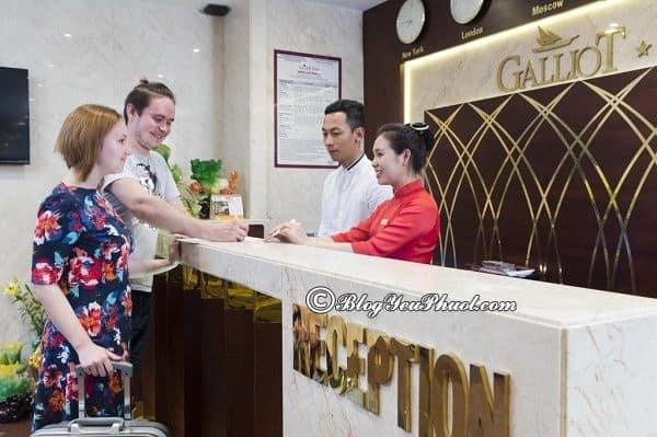 Có nên chọn khách sạnGalliot Nha Trang hay không? Review chất lượng phục vụ, tiện nghi, phòng ốc của khách sạn Galliot Nha Trang
