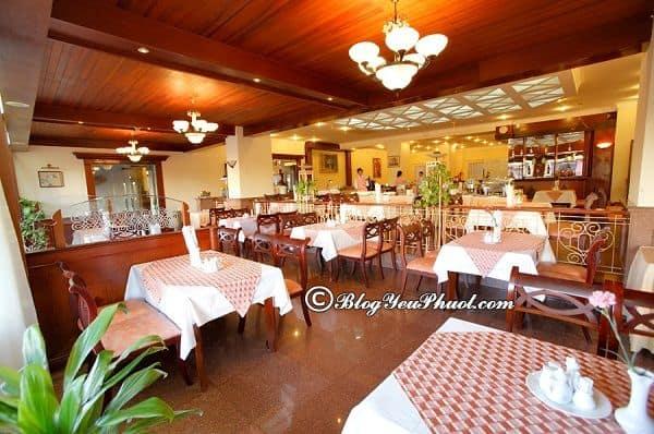 Có nên ở khách sạn 4 sao Golf 3 Đà Lạt? Review nhà hàng, đồ ăn của khách sạn Golf 3 Đà Lạt