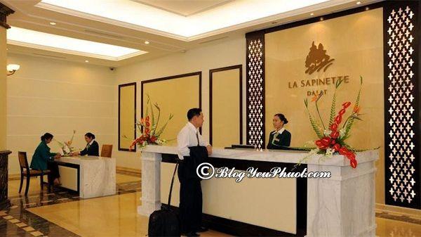 Khách sạn 4 sao La Sapinette Đà Lạt review chất lượng phục vụ: Khách sạn La Sapinette Đà Lạt có tốt không?