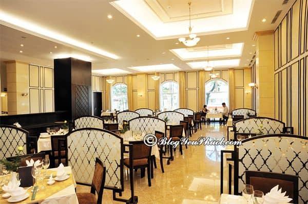 Bữa ăn ở khách sạn 4 sao La Sapinette Đà Lạt: Đánh giá nhà hàng, đồ ăn của khách sạn La Sapinette Đà Lạt