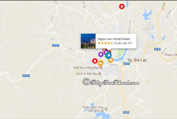 Khách sạn Ngọc Lan Đà Lạt ở đâu? Review vị trí của khách sạn Ngọc Lan Đà Lạt