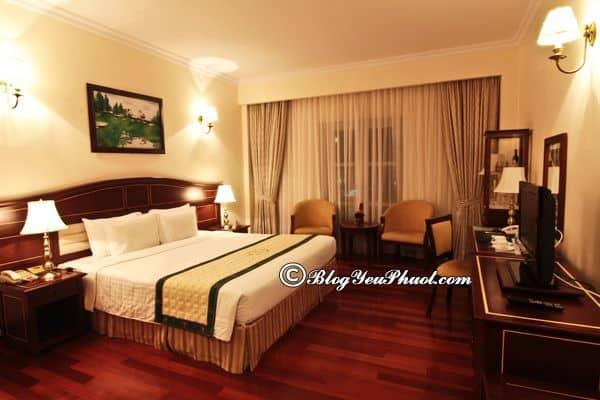 Khách sạn 4 sao Sài Gòn Đà Lạt có sạch sẽ, tiện nghi không? Nhận xét, review phòng ốc, nội thất của khách sạn Sài Gòn Đà Lạt