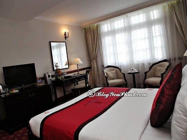 Thông tin phòng ốc khách sạn Sammy Đà Lạt: Đánh giá chất lượng, nội thất phòng ốc của khách sạn Sammy Đà Lạt