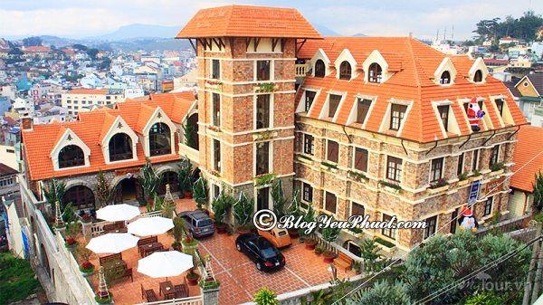 Khách sạn 4 sao Saphir Đà Lạt
