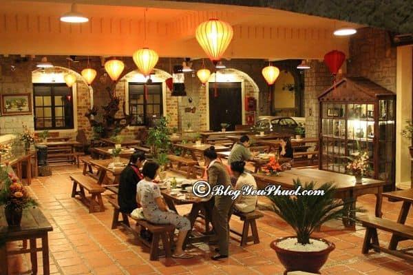 Đánh giá nhà hàng, đồ ăn của khách sạn Saphir Đà Lạt: Review chất lượng phục vụ của khách sạn Saphir Đà Lạt