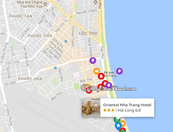 Vị trí của khách sạn Đông Phương 2 Nha Trang có gần biển không? Có nên đặt phòng khách sạn Đông Phương 2 Nha Trang hay không?