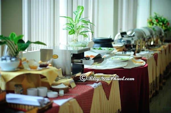 Khách sạn Sammy Vũng Tàu có tiện ích gì? Đánh giá chất lượng nhà hàng, đồ ăn của khách sạn Sammy Vũng Tàu