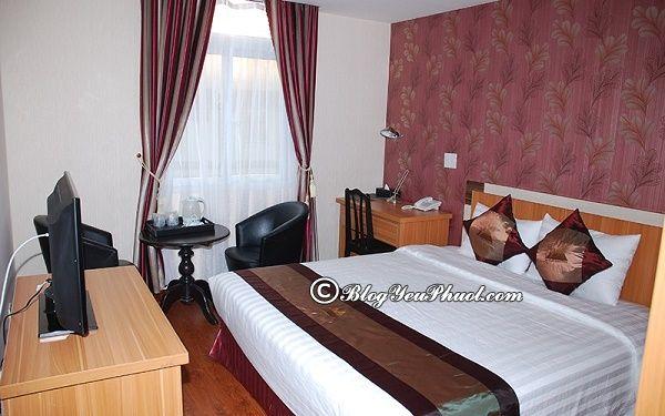 Khách sạn 3 sao nào ở đường Nguyễn Chí Thanh, Đà Lạt đẹp, tiện nghi đầy đủ?