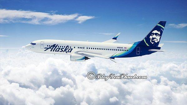 Du lịch Alaska bằng máy bay: Hướng dẫn tour du lịch Alaska giá rẻ