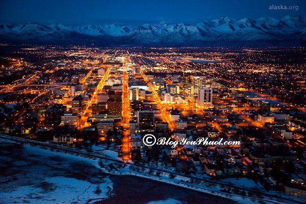 Địa điểm du lịch đẹp ở Alaska? Hướng dẫn đi tham quan, vui chơi khi du lịch Alaska