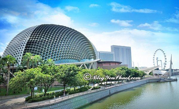 Hướng dẫn du lịch Marina Bay: Kinh nghiệm đi tham quan, vui chơi, ngắm cảnh, chụp ảnh đẹp ở Marina Bay