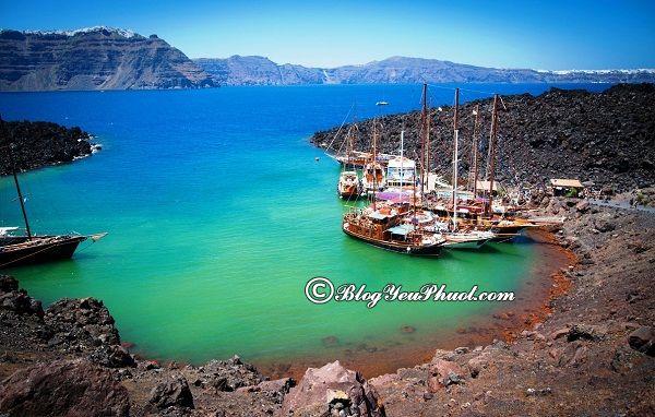 Đến đâu khi du lịch đảo Santorini? Kinh nghiệm du lịch đảo Santorini tự túc, giá rẻ