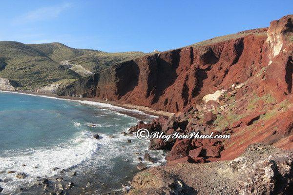 Địa điểm thu hút đông đảo khách du lịch khi tới với Santorini: Hướng dẫn, tư vấn lịch trình tham quan, vui chơi, ăn uống khi đi du lịch đảo Santorini