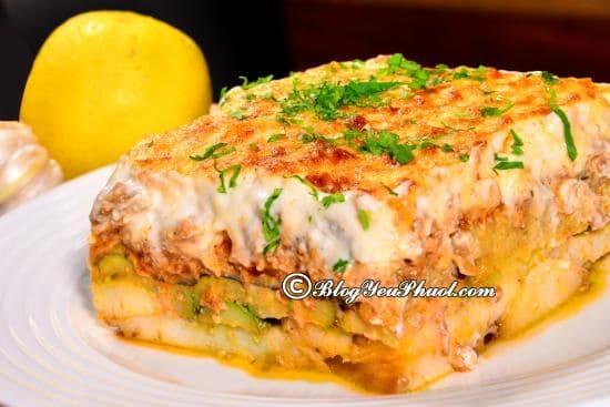 Món ăn truyền thống của người Santorini, Hy Lạp: Kinh nghiệm ăn uống khi đi du lịch đảo Santorini