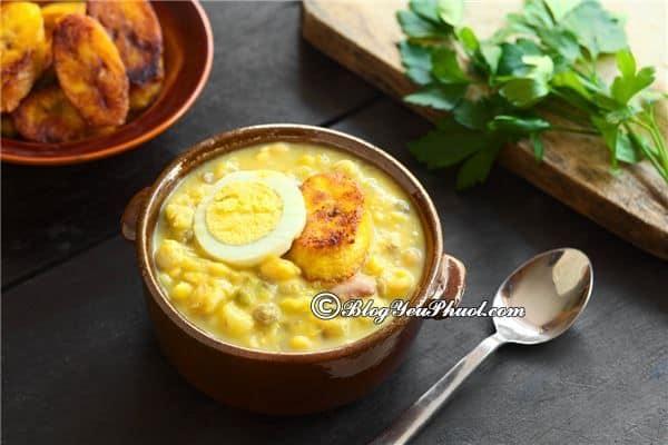 Món ăn truyền thống của người Ecuador: Kinh nghiệm ăn uống khi đi du lịch Ecuador