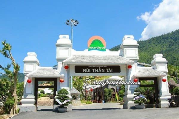 Những kinh nghiệm du lịch Núi Thần Tài