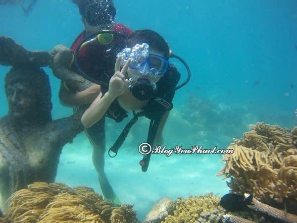 Điểm lặn biển được yêu thích ở Nha Trang: Du lịch Nha Trang đi đâu lặn biển đẹp nhất?