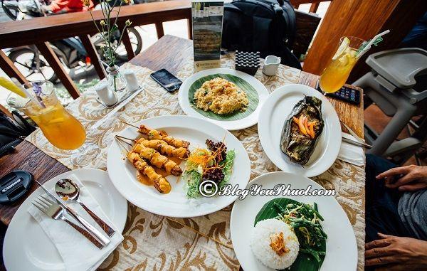 Những món ăn ngon nổi tiếng Bali/ Đặc sản Bali: Địa chỉ quán ăn ngon, nổi tiếng ở Bali
