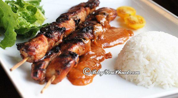 Nhà hàng, quán ăn ngon rẻ tại Bali: Món ăn ngon đặc sản nổi tiếng ở Bali