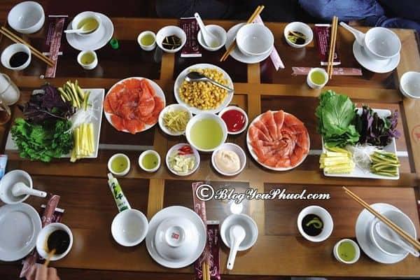Nhà hàng cá hồi nổi tiếng ở Mộc Châu: Mộc Châu có quán ăn nào ngon, giá bình dân?