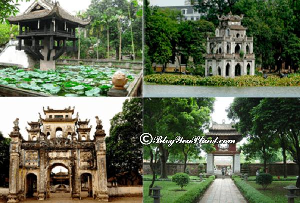 Những địa điểm du lịch nổi tiếng ở Việt Nam: Sơ đồ những địa điểm phượt hot nhất Việt Nam