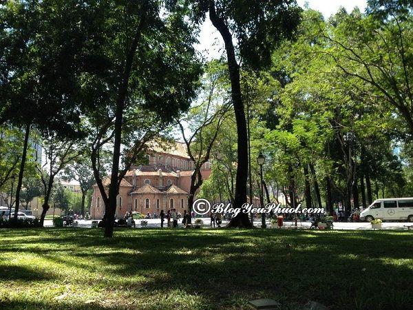 Những địa điểm du lịch lý tưởng ở Quận 1, Sài Gòn: Quận 1, Sài Gòn có địa điểm tham quan, du lịch nào nổi tiếng?