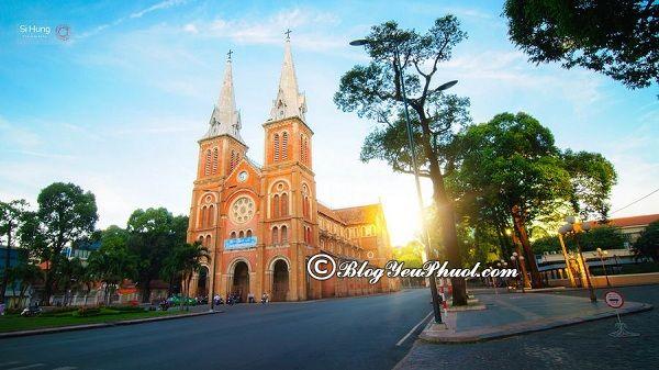 Nên đi đâu chơi khi du lịch Quận 1 Sài Gòn? Địa điểm tham quan, vui chơi hấp dẫn, nổi tiếng ở quận 1, Sài Gòn