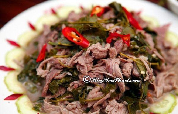 Món ăn được yêu thích ở Hòa Bình: Món ăn ngon đặc sản nổi tiếng ở Hòa Bình
