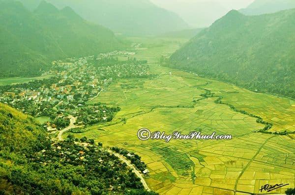 Địa điểm tham quan du lịch nổi tiếng ở Hòa Bình: Khoảng cách và đường đi từ Hà Nội tới Hòa Bình gần nhất