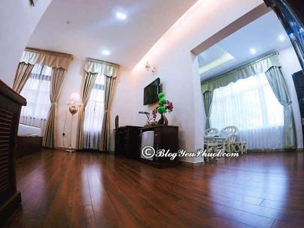 Review, đánh giá về tiện nghi phòng ốc của khách sạn Công Đoàn Thanh Bình Đà Nẵng