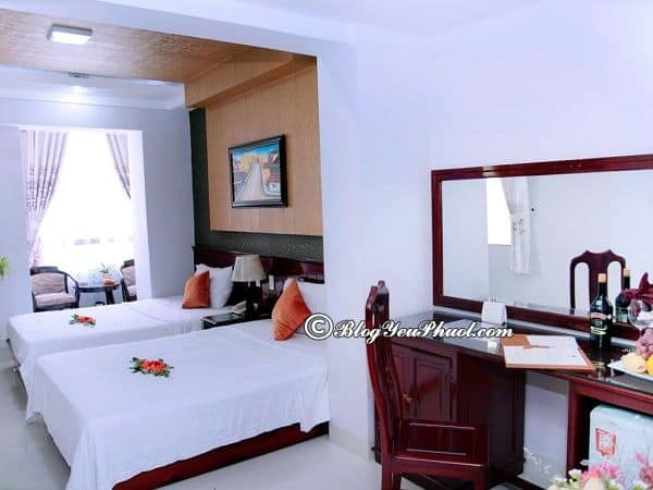 Đánh giá phòng ốc của khách sạn Victorian Nha Trang: Nhận xét về phòng ốc, vị trí, sự tiện nghi của khách sạn Victorian Nha Trang