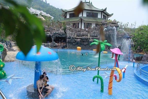 Thành phố Đà Nẵng đi công viên suối khoáng nóng núi Thần Tài bao nhiêu km? Hướng dẫn đường đi du lịch núi Thần Tài từ Đà Nẵng