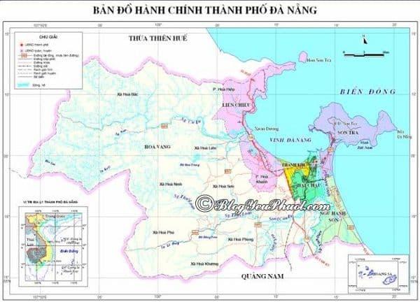 Bản đồ đường đi từ Đà Nẵng đến công viên suối khoáng nóng núi Thần Tài: Núi Thần Tài cách trung tâm Đà Nẵng bao nhiêu km, đi như thế nào?