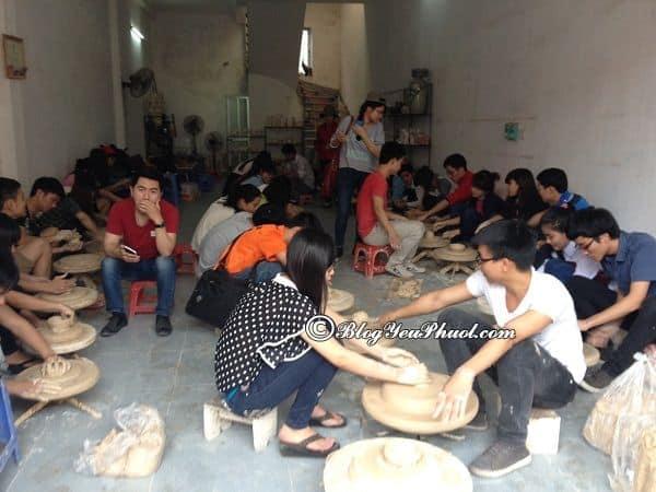 Kinh nghiệm vui chơi tại Bát Tràng: Hướng dẫn đường đi du lịch Bát Tràng từ trung tâm Hà Nội
