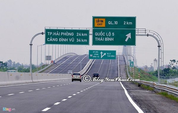 Đường từ Hà Nội - Hải Phòng: Từ Hà Nội tới Hải Phòng bằng phương tiện gì?