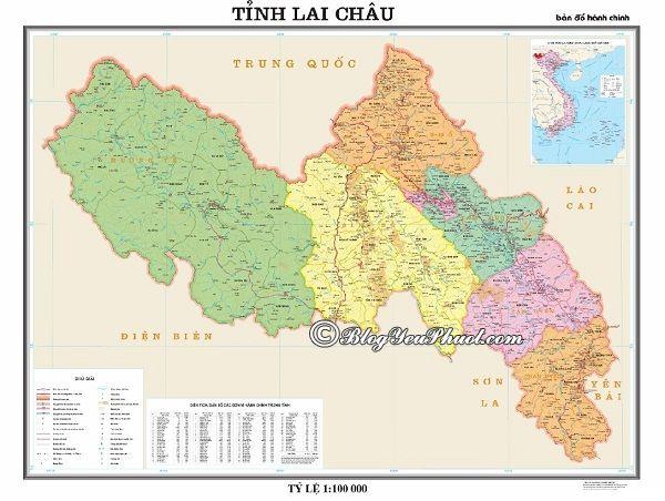 Bản đồ đường đi từ Hà Nội đến Lai Châu: Lai Châu cách Hà Nội bao nhiêu km, đi như thế nào?