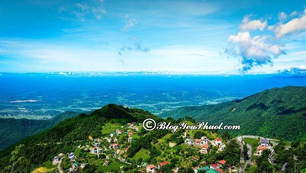 Hướng dẫn cách di chuyển từ trung tâm Hà Nội tới Tam Đảo du lịch: Tam Đảo cách Hà Nội bao nhiêu km, đi đường nào gần?