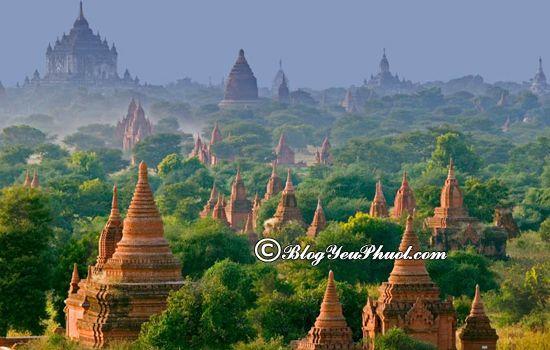 Chi phí du lịch Myanmar 7 ngày 6 đêm