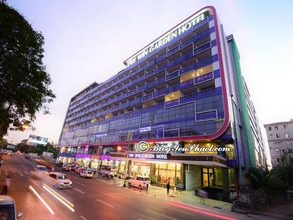 Ở đâu khi đến Myanmar? Chi phí ở khách sạn khi du lịch Myanmar 7 ngày 6 đêm