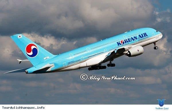 Làm sao để di chuyển đến Jeju, Seoul, Busan? Cách di chuyển khi du lịch Jeju - Seoul - Busan 10 ngày 9 đêm