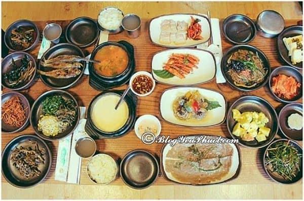 Ăn gì khi du lịch Jeju, Seoul, Busan? Kinh nghiệm ăn uống khi du lịch Jeju - Seoul - Busan