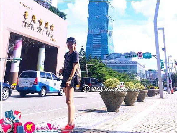 Du lịch Taipei 4 ngày 3 đêm tự túc