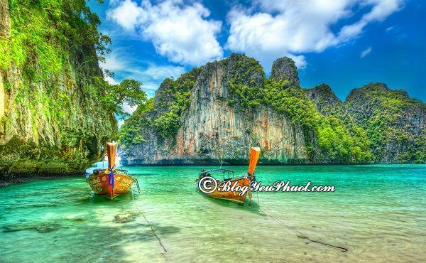 Du lịch bụi Bangkok – Krabi – Phi Phi đi chơi những đâu? Tư vấn lịch trình du lịch Bangkok – Krabi – Phi Phi