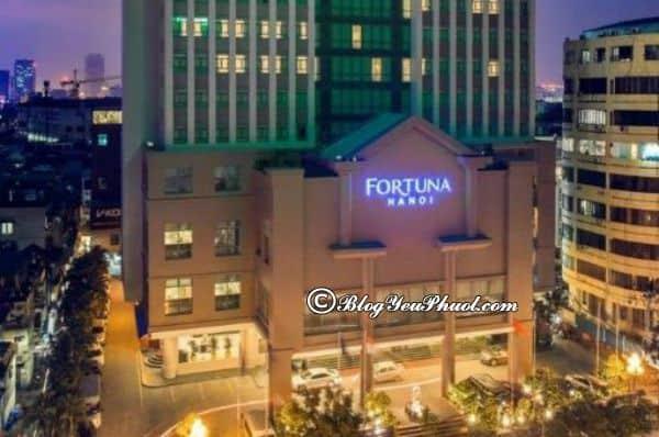 Foruna Hotel Hanoi – khách sạn 4 sao quận Ba Đình: Có nên đặt phòng khách sạn Fortuna Hotel Hà Nội hay không?