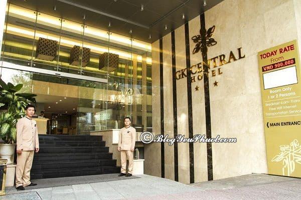 GK Central Hotel – Khách sạn quận 1