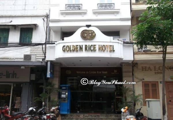 Đánh giá chi tiết chất lượng, phòng ốc của Golden Rice Hotel Hà Nội: Review tiện nghi, dịch vụ của Golden Rice Hotel Hà Nội