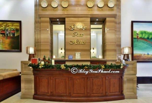 Tiện ích nổi bật của khách sạn Golden Rice khi đến Hà Nội: Có nên đặt phòng khách sạn Golden Rice Hotel Hà Nội hay không?